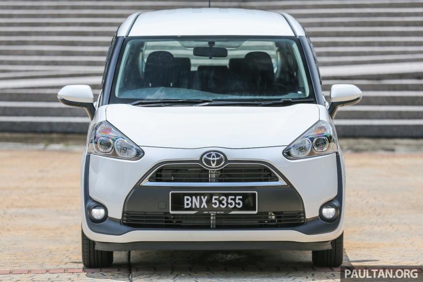 GALLERY: Toyota Sienta 1.5G – the base model MPV Image #545314