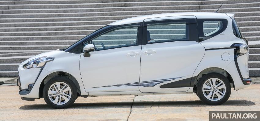GALLERY: Toyota Sienta 1.5G – the base model MPV Image #545328