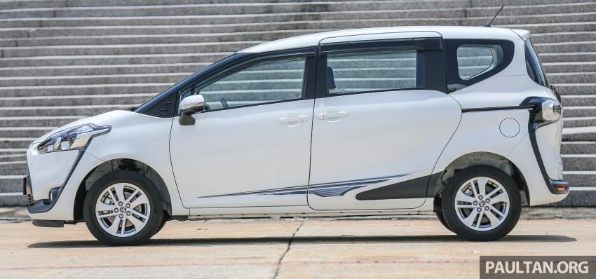 GALLERY: Toyota Sienta 1.5G – the base model MPV Image #545329