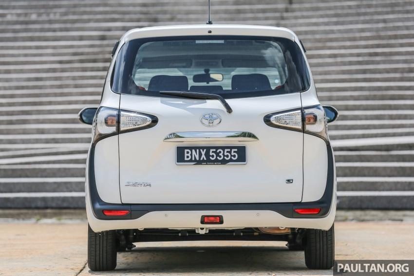 GALLERY: Toyota Sienta 1.5G – the base model MPV Image #545338