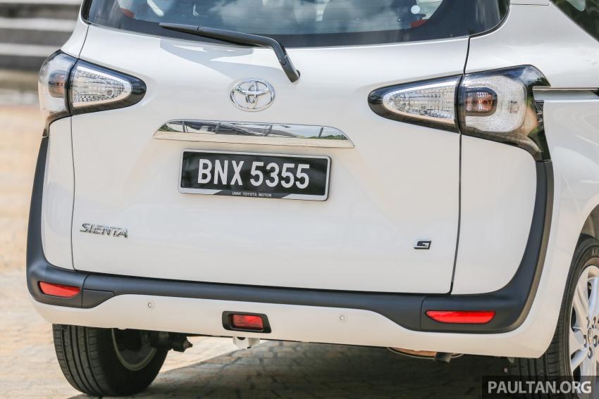 GALLERY: Toyota Sienta 1.5G – the base model MPV Image #545344