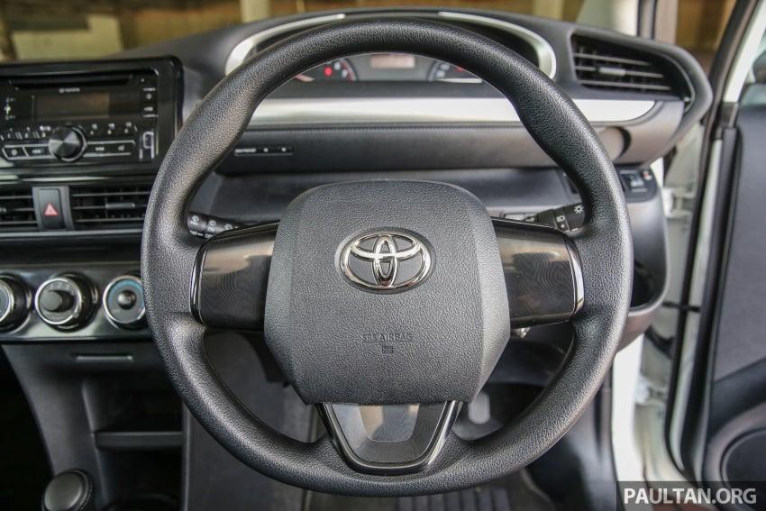 GALLERY: Toyota Sienta 1.5G – the base model MPV Image #545355