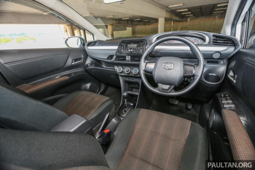 GALLERY: Toyota Sienta 1.5G – the base model MPV Image #545379