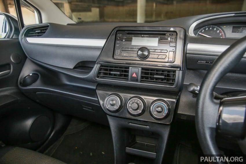 GALLERY: Toyota Sienta 1.5G – the base model MPV Image #545357
