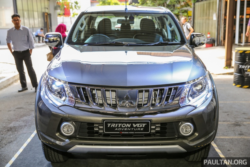 Mitsubishi Triton VGT upgraded – now with 181 PS, 430 Nm 2.4L MIVEC diesel engine, new X variant Image #545000