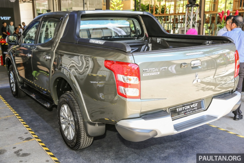 Mitsubishi Triton VGT upgraded – now with 181 PS, 430 Nm 2.4L MIVEC diesel engine, new X variant Image #545010