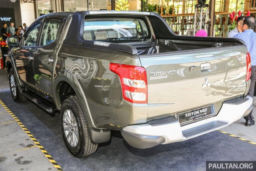 Mitsubishi Triton VGT dipertingkat dilancarkan- 2.4L MIVEC Turbodiesel, 181 PS/430 Nm, varian X baharu Image #544967