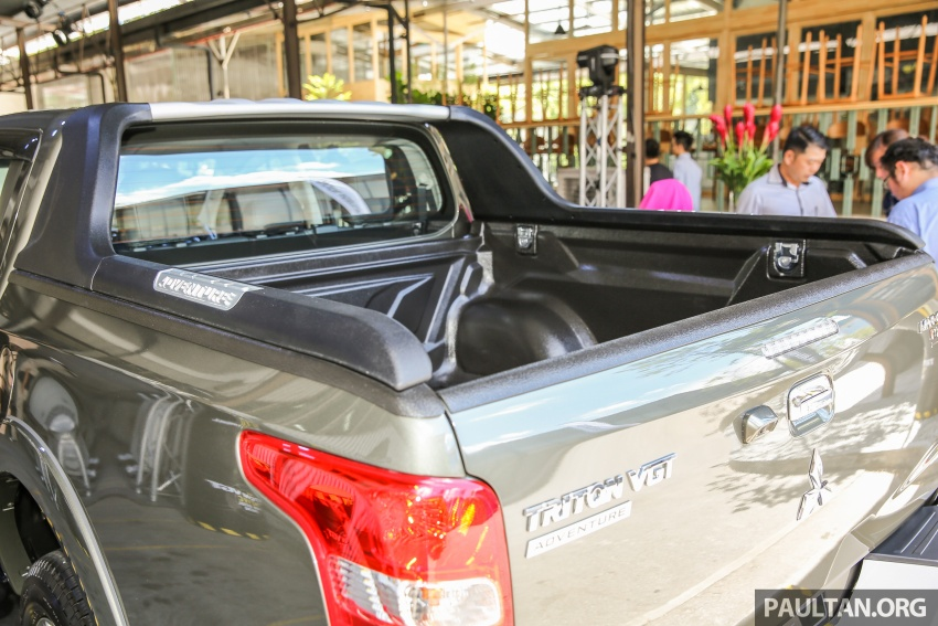 Mitsubishi Triton VGT upgraded – now with 181 PS, 430 Nm 2.4L MIVEC diesel engine, new X variant Image #545011