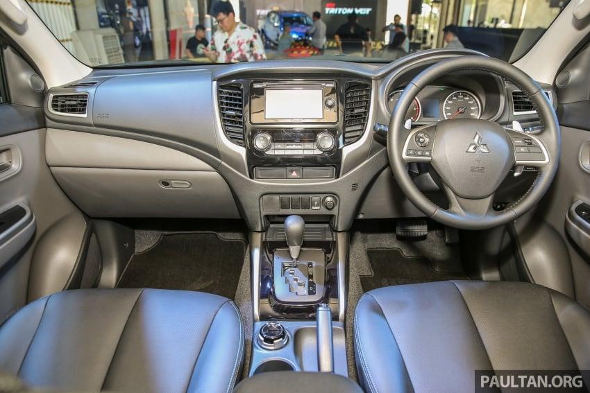 Mitsubishi Triton VGT dipertingkat dilancarkan- 2.4L MIVEC Turbodiesel, 181 PS/430 Nm, varian X baharu Image #544962