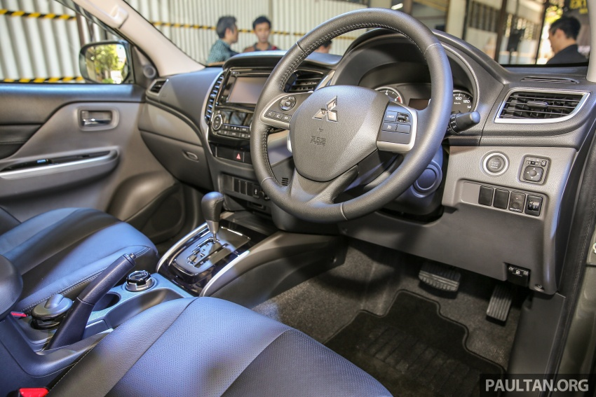 Mitsubishi Triton VGT upgraded – now with 181 PS, 430 Nm 2.4L MIVEC diesel engine, new X variant Image #545018