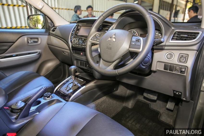 Mitsubishi Triton VGT dipertingkat dilancarkan- 2.4L MIVEC Turbodiesel, 181 PS/430 Nm, varian X baharu Image #544960