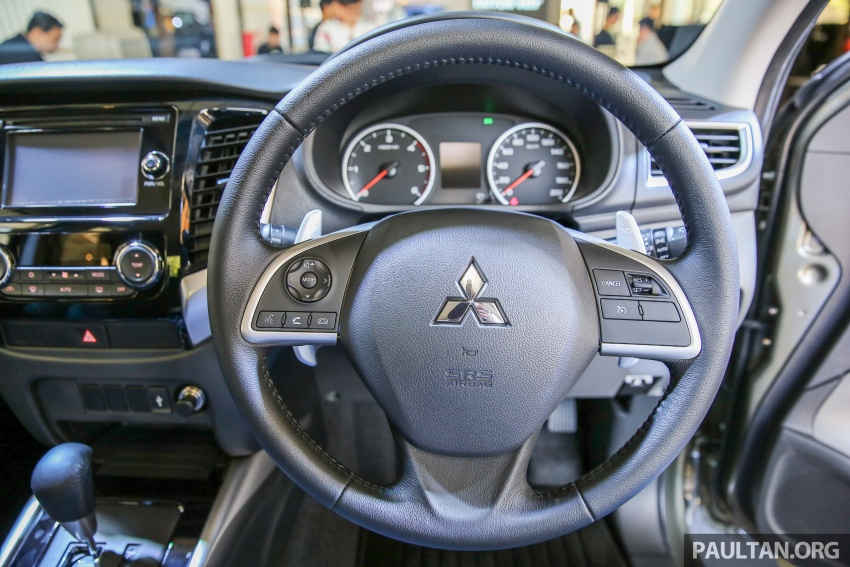 Mitsubishi Triton VGT dipertingkat dilancarkan- 2.4L MIVEC Turbodiesel, 181 PS/430 Nm, varian X baharu Image #544961