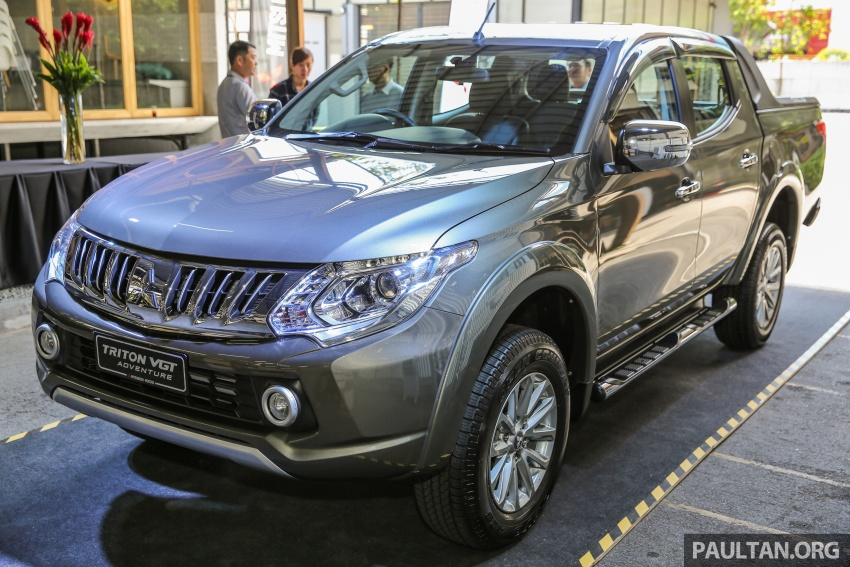 Mitsubishi Triton VGT upgraded – now with 181 PS, 430 Nm 2.4L MIVEC diesel engine, new X variant Image #545001