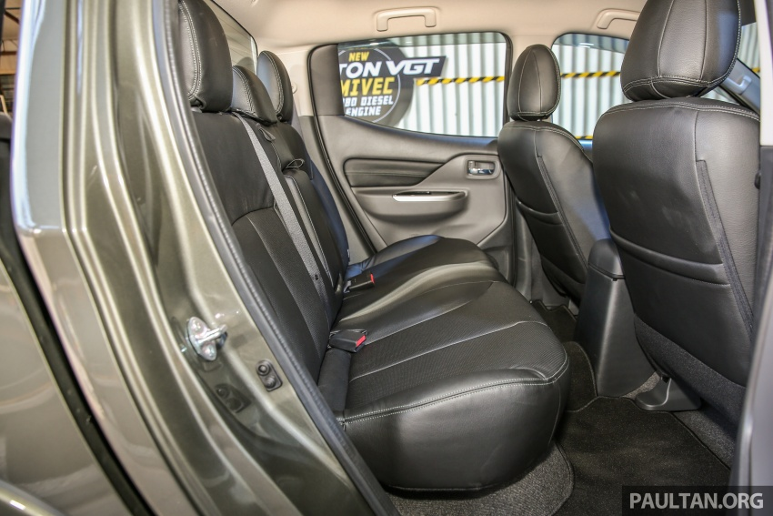 Mitsubishi Triton VGT dipertingkat dilancarkan- 2.4L MIVEC Turbodiesel, 181 PS/430 Nm, varian X baharu Image #544951