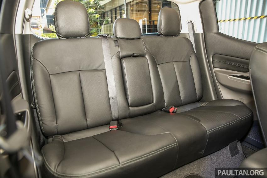 Mitsubishi Triton VGT dipertingkat dilancarkan- 2.4L MIVEC Turbodiesel, 181 PS/430 Nm, varian X baharu Image #544949