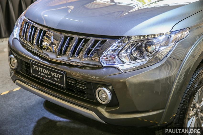 Mitsubishi Triton VGT dipertingkat dilancarkan- 2.4L MIVEC Turbodiesel, 181 PS/430 Nm, varian X baharu Image #544946