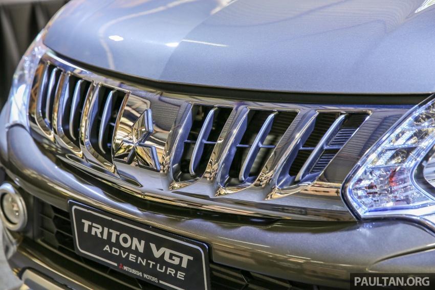 Mitsubishi Triton VGT dipertingkat dilancarkan- 2.4L MIVEC Turbodiesel, 181 PS/430 Nm, varian X baharu Image #544945