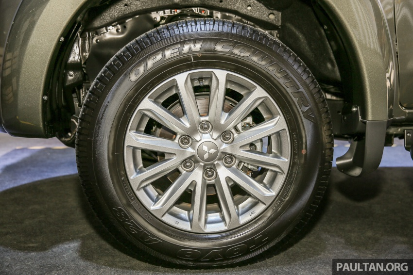 Mitsubishi Triton VGT dipertingkat dilancarkan- 2.4L MIVEC Turbodiesel, 181 PS/430 Nm, varian X baharu Image #544942