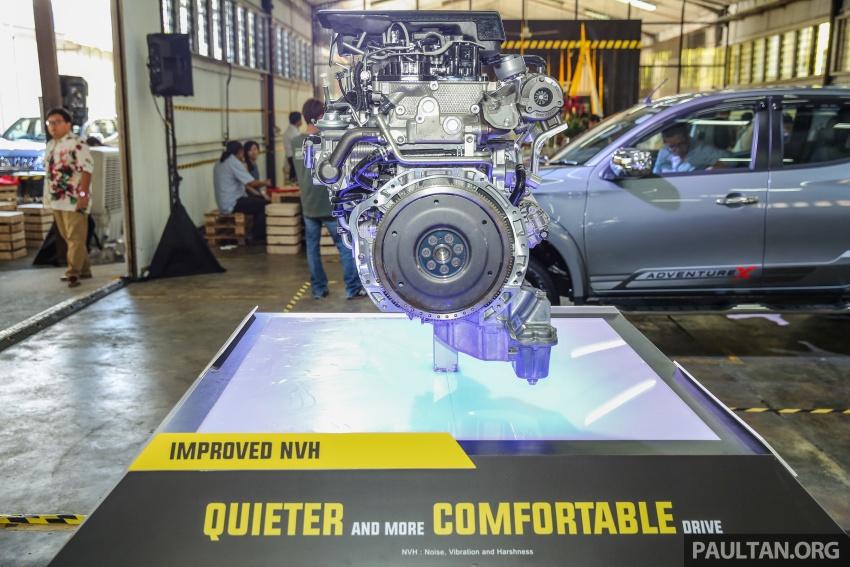 Mitsubishi Triton VGT dipertingkat dilancarkan- 2.4L MIVEC Turbodiesel, 181 PS/430 Nm, varian X baharu Image #544996