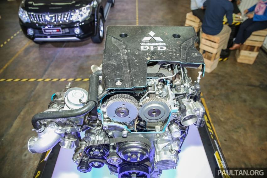 Mitsubishi Triton VGT dipertingkat dilancarkan- 2.4L MIVEC Turbodiesel, 181 PS/430 Nm, varian X baharu Image #544993