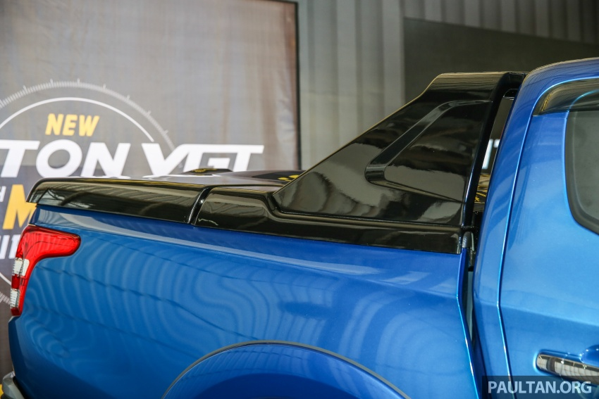 Mitsubishi Triton VGT dipertingkat dilancarkan- 2.4L MIVEC Turbodiesel, 181 PS/430 Nm, varian X baharu Image #544765