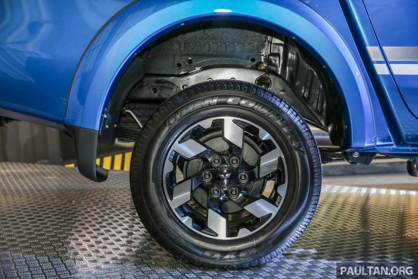 Mitsubishi Triton VGT dipertingkat dilancarkan- 2.4L MIVEC Turbodiesel, 181 PS/430 Nm, varian X baharu Image #544761