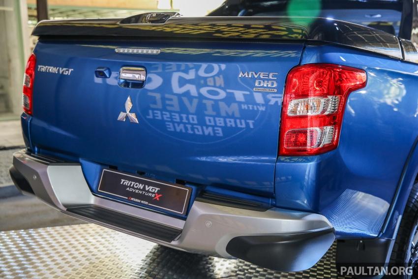 Mitsubishi Triton VGT dipertingkat dilancarkan- 2.4L MIVEC Turbodiesel, 181 PS/430 Nm, varian X baharu Image #544757