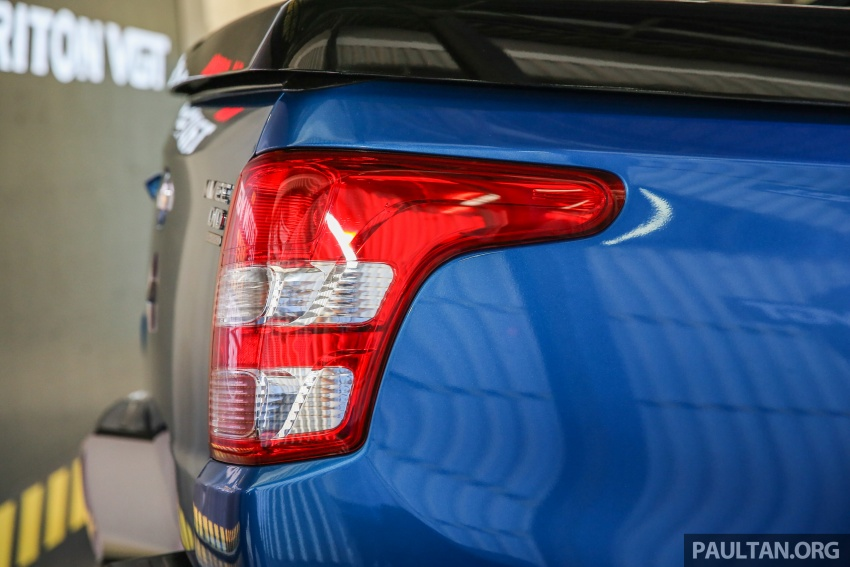 Mitsubishi Triton VGT dipertingkat dilancarkan- 2.4L MIVEC Turbodiesel, 181 PS/430 Nm, varian X baharu Image #544756