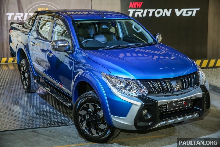 Mitsubishi Triton VGT dipertingkat dilancarkan- 2.4L MIVEC Turbodiesel, 181 PS/430 Nm, varian X baharu Image #544754