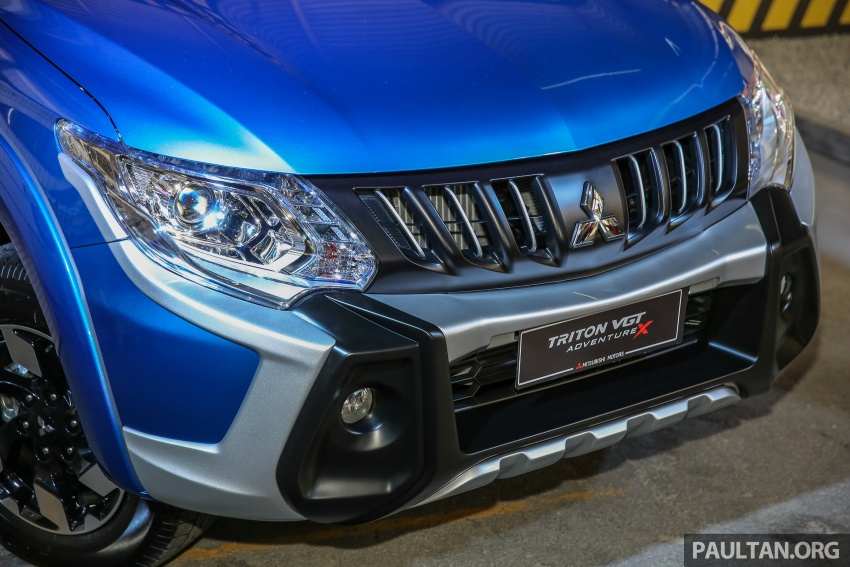 Mitsubishi Triton VGT upgraded – now with 181 PS, 430 Nm 2.4L MIVEC diesel engine, new X variant Image #544859
