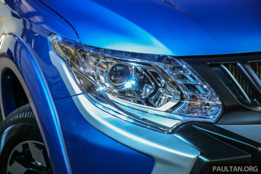Mitsubishi Triton VGT dipertingkat dilancarkan- 2.4L MIVEC Turbodiesel, 181 PS/430 Nm, varian X baharu Image #544746