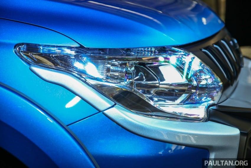 Mitsubishi Triton VGT dipertingkat dilancarkan- 2.4L MIVEC Turbodiesel, 181 PS/430 Nm, varian X baharu Image #544743