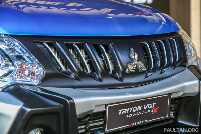 Mitsubishi Triton VGT dipertingkat dilancarkan- 2.4L MIVEC Turbodiesel, 181 PS/430 Nm, varian X baharu Image #544745