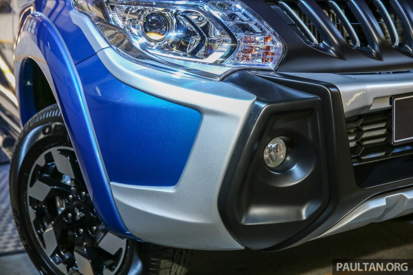 Mitsubishi Triton VGT upgraded – now with 181 PS, 430 Nm 2.4L MIVEC diesel engine, new X variant Image #544863