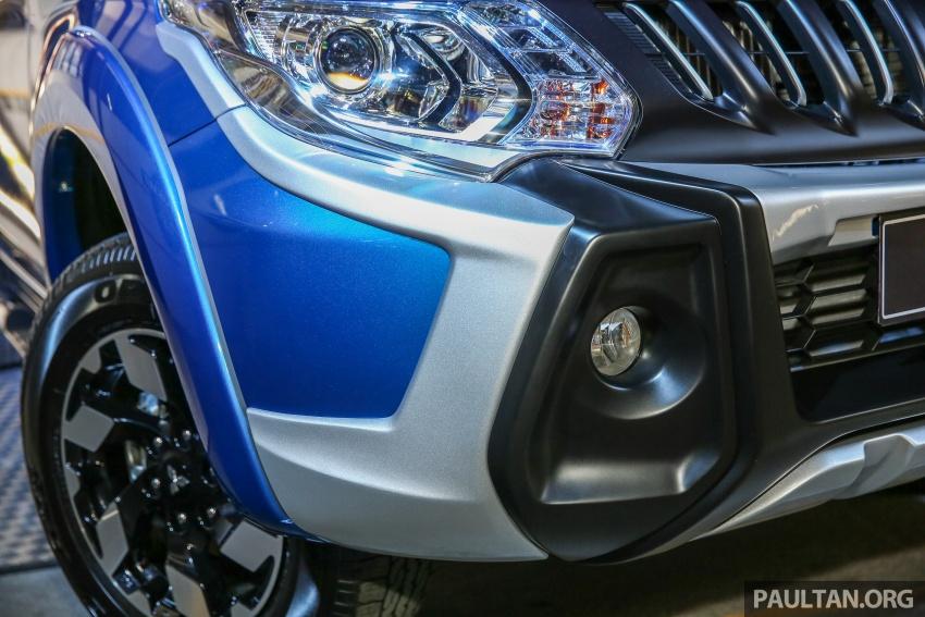 Mitsubishi Triton VGT dipertingkat dilancarkan- 2.4L MIVEC Turbodiesel, 181 PS/430 Nm, varian X baharu Image #544742