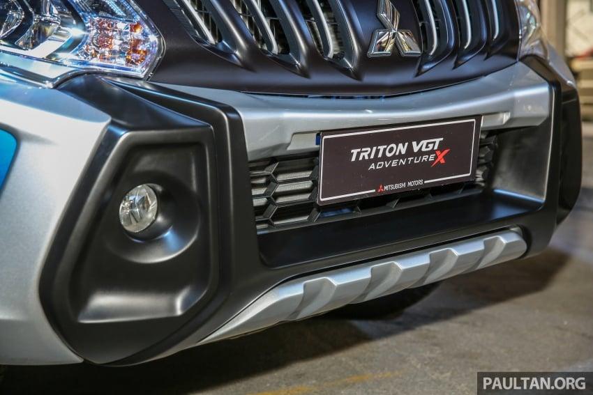 Mitsubishi Triton VGT dipertingkat dilancarkan- 2.4L MIVEC Turbodiesel, 181 PS/430 Nm, varian X baharu Image #544740