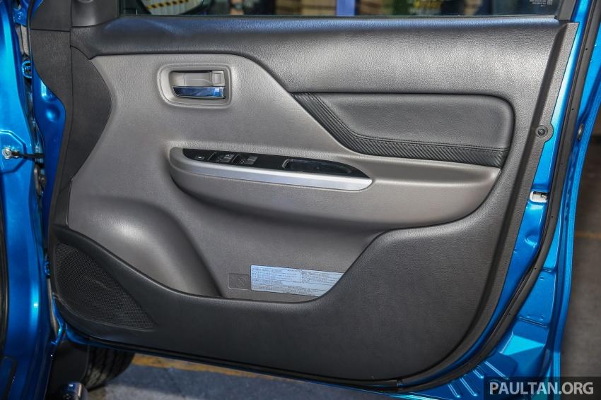Mitsubishi Triton VGT dipertingkat dilancarkan- 2.4L MIVEC Turbodiesel, 181 PS/430 Nm, varian X baharu Image #544737