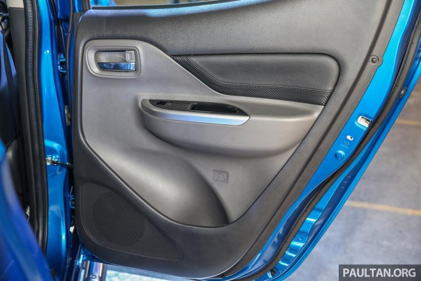 Mitsubishi Triton VGT dipertingkat dilancarkan- 2.4L MIVEC Turbodiesel, 181 PS/430 Nm, varian X baharu Image #544730