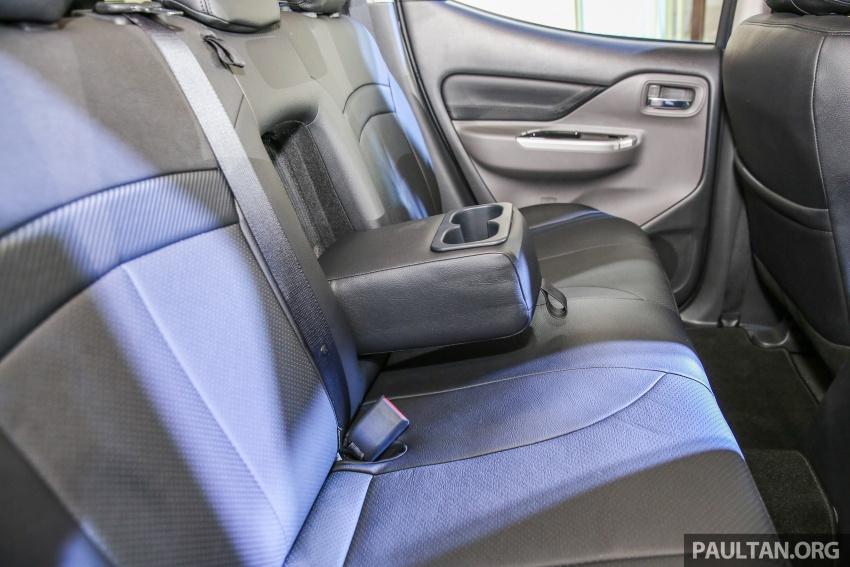 Mitsubishi Triton VGT dipertingkat dilancarkan- 2.4L MIVEC Turbodiesel, 181 PS/430 Nm, varian X baharu Image #544728