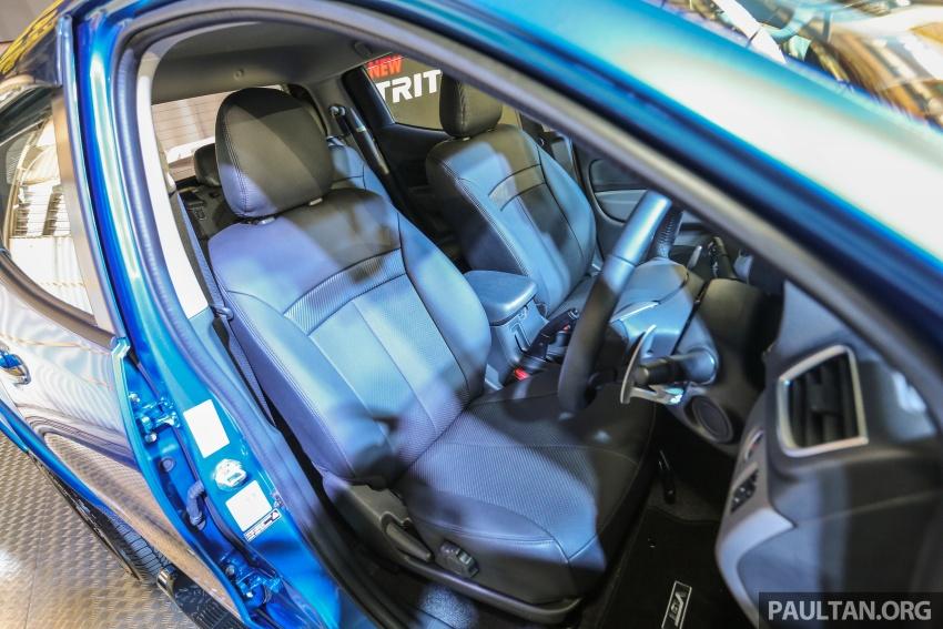 Mitsubishi Triton VGT dipertingkat dilancarkan- 2.4L MIVEC Turbodiesel, 181 PS/430 Nm, varian X baharu Image #544714