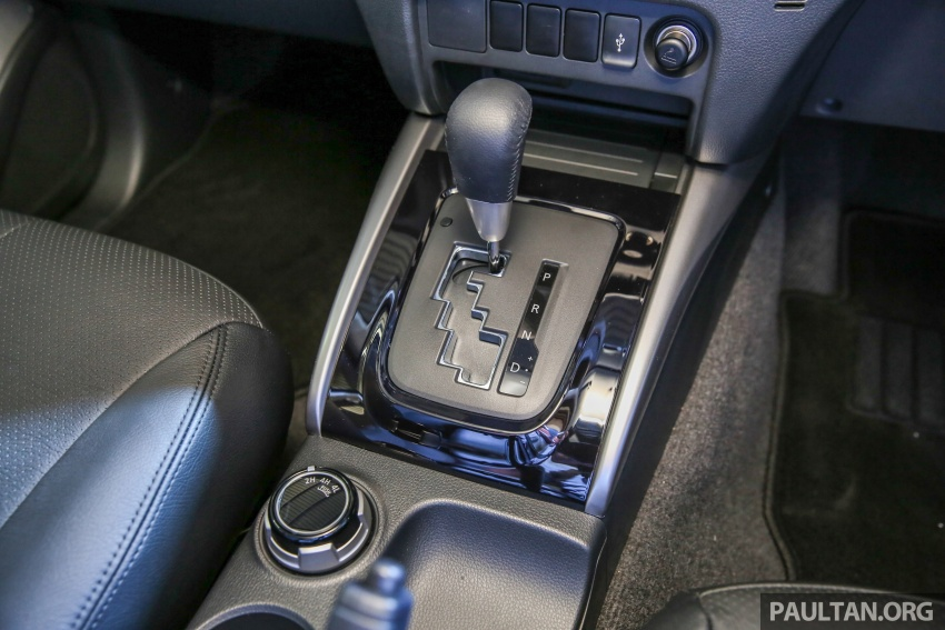 Mitsubishi Triton VGT dipertingkat dilancarkan- 2.4L MIVEC Turbodiesel, 181 PS/430 Nm, varian X baharu Image #544692