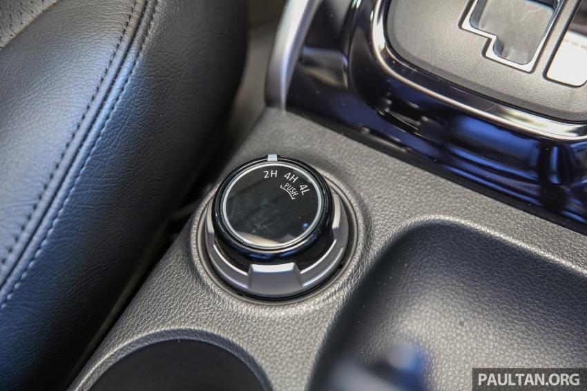 Mitsubishi Triton VGT dipertingkat dilancarkan- 2.4L MIVEC Turbodiesel, 181 PS/430 Nm, varian X baharu Image #544690