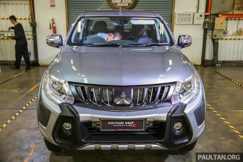 Mitsubishi Triton VGT dipertingkat dilancarkan- 2.4L MIVEC Turbodiesel, 181 PS/430 Nm, varian X baharu Image #544937