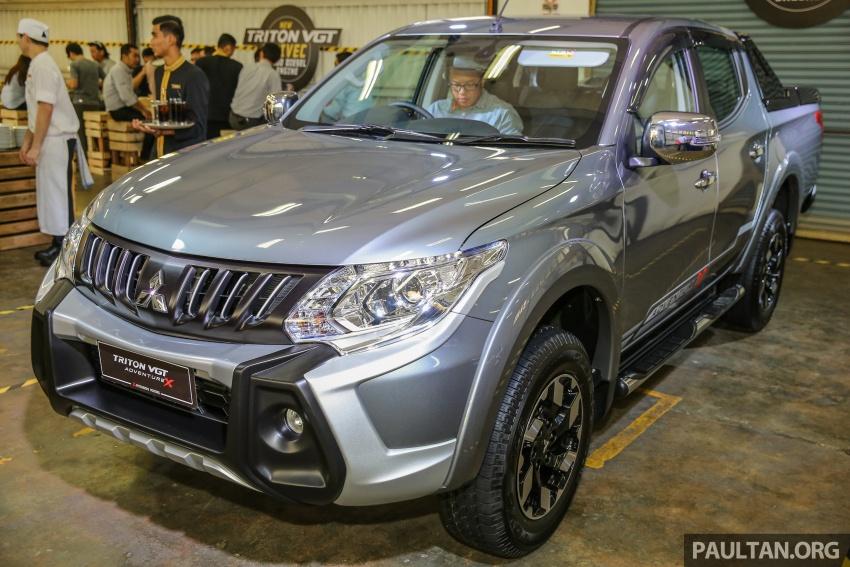 Mitsubishi Triton VGT dipertingkat dilancarkan- 2.4L MIVEC Turbodiesel, 181 PS/430 Nm, varian X baharu Image #544938