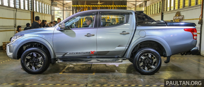 Mitsubishi Triton VGT upgraded – now with 181 PS, 430 Nm 2.4L MIVEC diesel engine, new X variant Image #545043