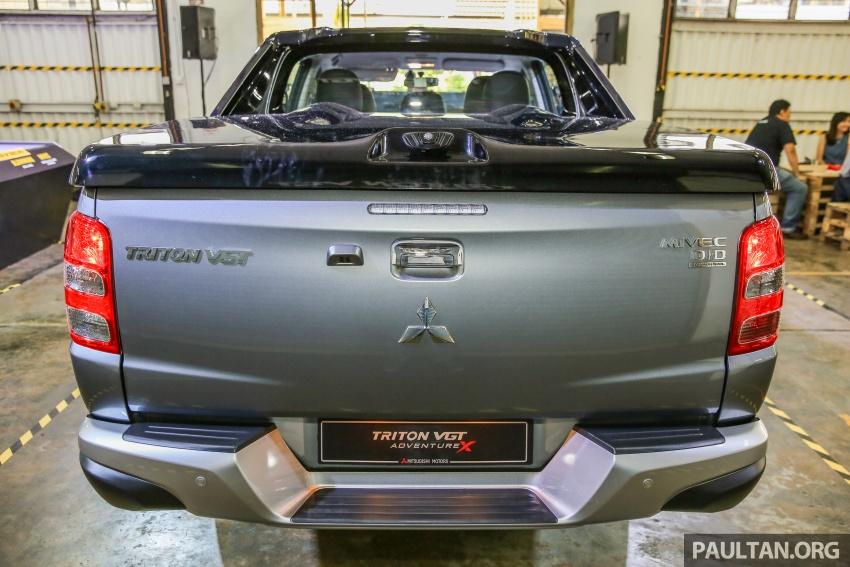 Mitsubishi Triton VGT dipertingkat dilancarkan- 2.4L MIVEC Turbodiesel, 181 PS/430 Nm, varian X baharu Image #544935