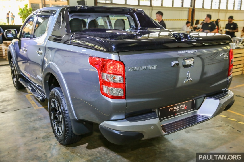 Mitsubishi Triton VGT upgraded – now with 181 PS, 430 Nm 2.4L MIVEC diesel engine, new X variant Image #545045