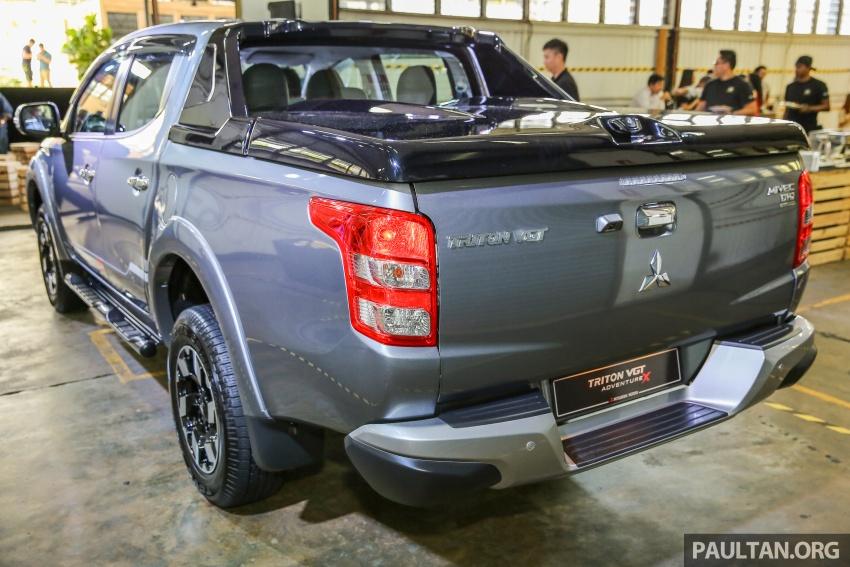 Mitsubishi Triton VGT dipertingkat dilancarkan- 2.4L MIVEC Turbodiesel, 181 PS/430 Nm, varian X baharu Image #544934