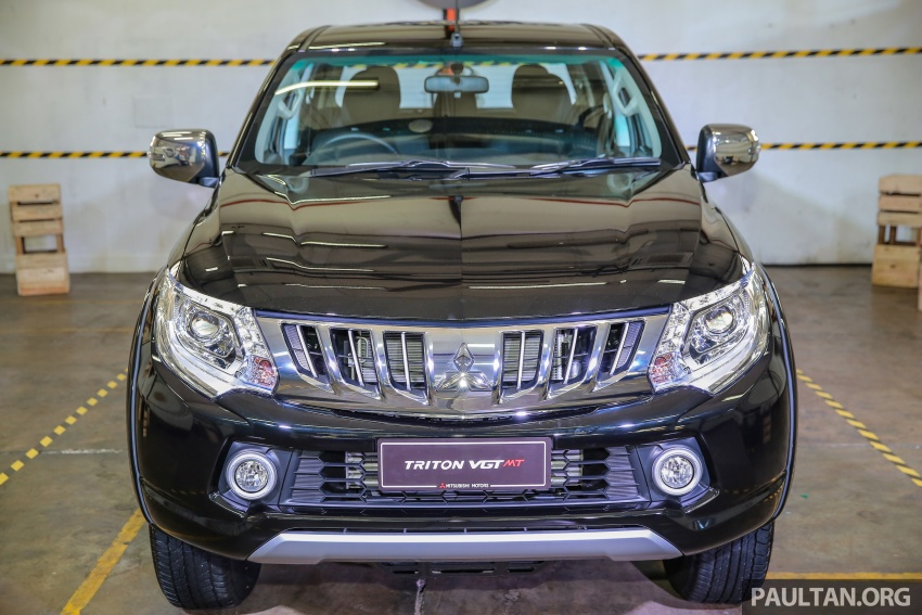 Mitsubishi Triton VGT upgraded – now with 181 PS, 430 Nm 2.4L MIVEC diesel engine, new X variant Image #545057