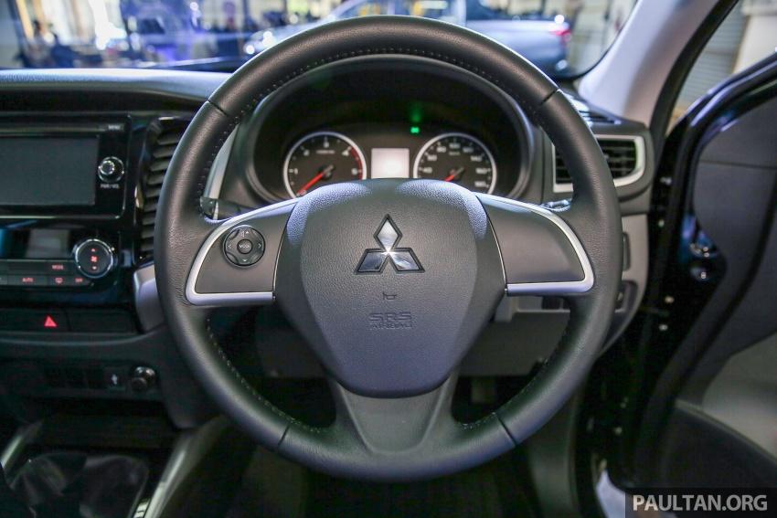 Mitsubishi Triton VGT dipertingkat dilancarkan- 2.4L MIVEC Turbodiesel, 181 PS/430 Nm, varian X baharu Image #544988